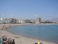sabinillas beach, duquesa marina